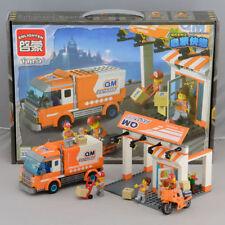 NEW ENLIGHTEN Building block toy Express store+Express car Children's gift 119