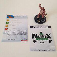 Heroclix DC75th Anniversary set Gorilla City Warrior #004 Common figure w/card!