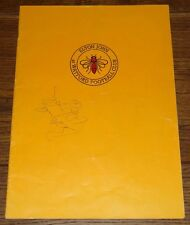ELTON JOHN HAND SIGNED WATFORD FOOTBALL CLUB CHARITY CONCERT PROGRAMME 1974