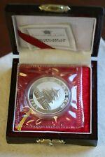 1992 1oz Silver China Proof Panda Ultra Cameo 10 Yuan Chinese Coin