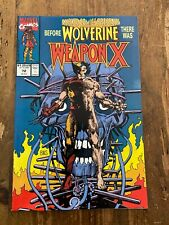 Marvel Comics Presents Before WOLVERINE there was WEAPON X #72 1991 1