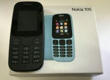 ORIGINAL Nokia 105 - Black (Unlocked) Cellular Phone- NEW