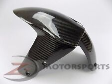 2004-2007 ZX10R ZX-10R Front Tire Fender Mud Guard Cowl Fairing Carbon Fiber