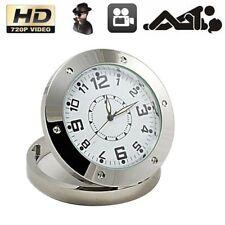 Mini Table Clock Spy Camera DVR Video Recorder Hidden Motion Cam Camcorder 720P