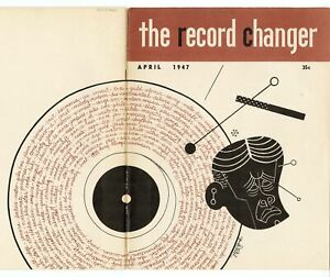 1947 THE RECORD CHANGER, Collector's Monthly Music Release List, Magazine