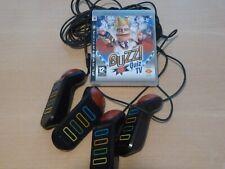 Sony PS3 BUZZ Quiz Tv Game & 4 USB con Cable Zumbadores