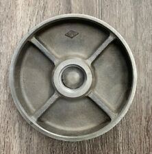 """8"""" Cast Iron Plate with threads for Lathe See Photo"""