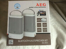 Aeg BSS 4833 Bluetooth Speaker Kit, White