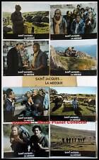 SAINT JACQUES LA MECQUE  Robin,Darroussin,Serreau  JEU DE 8 PHOTOS / 8 FRENCH LC