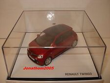 NOREV RENAULT TWINGO 3  ROUGE FLAMME 2014 au 1/43°
