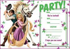 Tangled Party Invitations c/w Envelopes