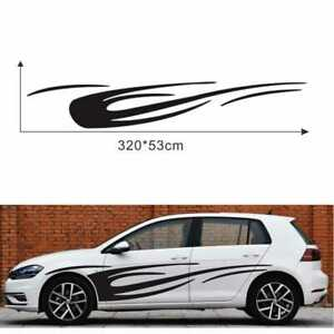 Universal Dynamic Flame Side Sticker Vinyl Decal for Car Truck Boat Motorcycle