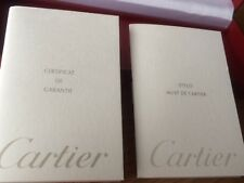 CARTIER Gold Tone Matte Silver Tone Twist Ball Point Pen in box COST0020