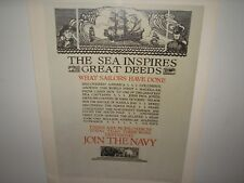 Navy vintage US recruiting posters with Borders 3 MORE LIST BELOW WAS $1500