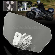 Universal Windschutzscheibe Spoiler Windabweiser Windschild für Motorrad