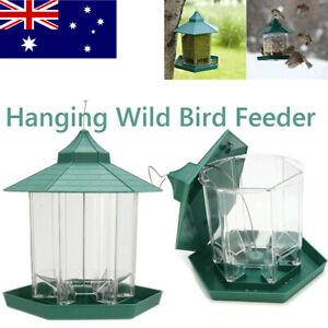 Waterproof Hanging Gazebo Wild Bird Feeder Outdoor Feeding For Garden Decoration