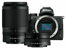 BRAND NEW Nikon Z50 Mirrorless DX Camera Kit WITH 2 LENS 16-50mm & 50-250mm