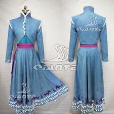 Frozen 2 Olaf's Frozen Adventure Anna Princess Dress Cosplay Costume Halloween