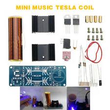 15W Mini Tesla Coil Plasma Ball Speaker Kit Electronic Field Music DIY Project