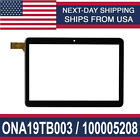 """Touch Screen Digitizer Glass For Onn 10.1"""" Tablet Model: ONA19TB003 、100005208"""