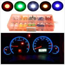40 Pcs Mixed Color T5 T10 LED 5050SMD Car Dashboard Instrument Indicator Lights