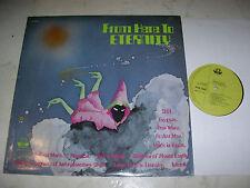MOOG FROM HERE TO ETERNITY David Bowie, Moroder, Jarre *STRANGE AUSTRALIA LP*