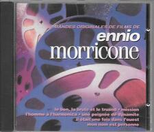 CD COMPIL 16 TITRES--ENNIO MORRICONE--BANDES ORIGINALES DE FILMS DE ENNIO...