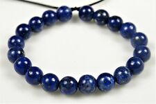 Quality Natural Genuine Lapis Lazuli Small Round Bead- 4.2~4.4mm- 20 beads-4910A