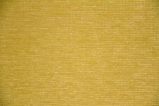 "9 7/8 Yards-Sale Fabric-57"" Yellow/Green Chenille Upholstery Home Decor Fabric"