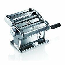 Marcato Atlas 150 Pasta Machine, Silver, Includes Pasta Cutter,Hand Crank,