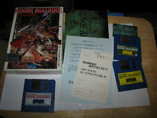 Rogue Alliance Realms of Darkness MSX 2 MSX Japan import Complete in Box