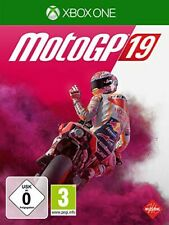 Microsoft Xbox-one xbone juego motogp 19 moto gp 2019 moto recién New 55