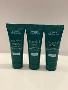 3 x Aveda botanical repair intensive strengthening masque light 0.85oz x 3