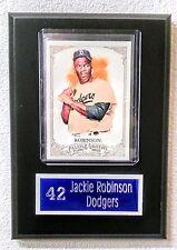 "Jackie Robinson Dodgers Sport Card Plaque 5"" x 7"""