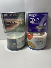 Blank Media CD Memorex Bundle Cool Colors Philips Cool Colors Spin x 118 Total