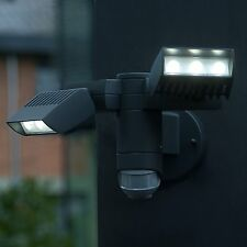Eco Light Effizienter LED-Außenwandstrahler Club, 2100 lm, 20 W IP54 6156-PIR GR