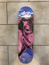 Alien Workshop x Andy Warhol Iconic Collection Cow Left Skateboard Deck 8""