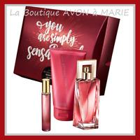ATTRACTION SENSATION Eau de Parfum Pour ELLE AVON : COFFRET PRET A OFFRIR