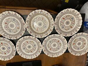 Copeland Spode Florence 10 inch Scalloped Dinner Plate