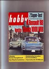 hobby 19/64 Renault R8 kontra Skoda 1000 MB Supertest in der ČSSR vom 09.09.1964