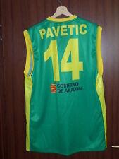 MATCH WORN CD ZARAGOZA SANA PAVETIC #14 Basketball Jersey Shirt Vest CROATIA