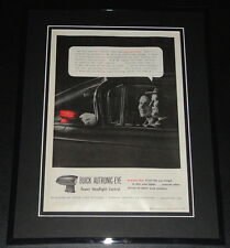 1959 Buick Autronic Eye Headlights 11x14 Framed ORIGINAL Vintage Advertisement