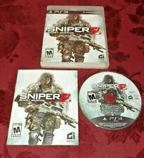 Sniper: Ghost Warrior 2 (Sony PlayStation 3, 2013) ~ Complete