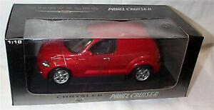 Chrysler Panl Cruiser in Dark Red opening parts New in box 1-18 scale 71532