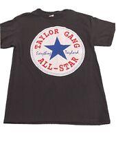 Taylor Gang Converse All-Star Wiz Khalifa Rap Black T Shirt Size Medium NWOT