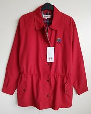 PRINGLE FOR GOOD HOUSEKEEPING LADIES RED ⛳ GOLF JACKET SIZE M UK 14-16-18 NWT