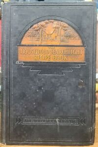 The Household Searchlight Recipe Book Cookbook Tabbed Pages Vintage 1935