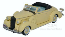 Oxford 1936 Buick Special Convertible Francis Cream Die-Cast Metal Car 1/87 HO