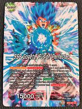 SSB Gogeta, Fusion Perfected BT6-001 UC Dragon Ball Super TCG Near Mint