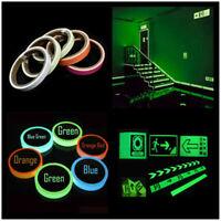 Luminous Fluorescent Night Self-adhesive Safety Sticker Tape Glow In The Dark Dw